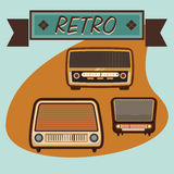 Music icon design Royalty Free Stock Images