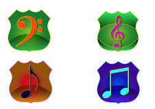 Music Icon Royalty Free Stock Photo