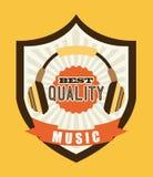 Music icon Stock Photos