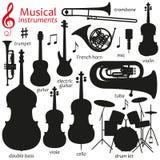 Music icon set Stock Photography