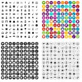 100 music icons set vector variant. 100 music icons set vector in 4 variant for any web design isolated on white Royalty Free Stock Photos