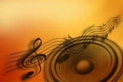 Music idea Royalty Free Stock Photography