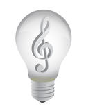Music idea concept Royalty Free Stock Image