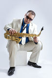 Music Ideas and Concepts. Handsome and Expressive Caucasian Musi Royalty Free Stock Photo