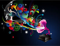 Music  illustration Stock Photography