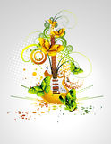 Music illustration Stock Photos