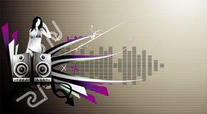 Music illustration Stock Image