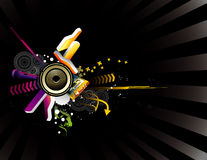 Music illustration Royalty Free Stock Photo