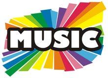 Music illustration Stock Images