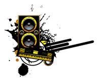 Music illustration Stock Photos