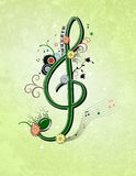 Music illustration Stock Photography