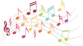 Music illustration Royalty Free Stock Images