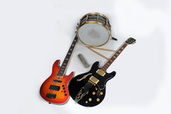 Music imstruments Royalty Free Stock Photography