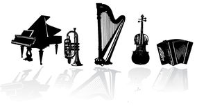 Music instrument  Stock Images