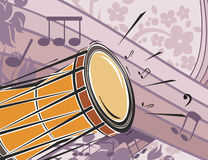 Music Instrument Background Stock Photo