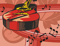 Music Instrument Background Stock Image