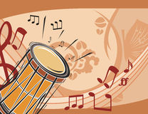 Music Instrument Background Stock Photography