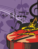 Music Instrument Background Royalty Free Stock Image