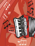 Music Instrument Background Royalty Free Stock Photography