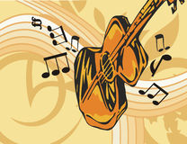 Music Instrument Background Royalty Free Stock Image