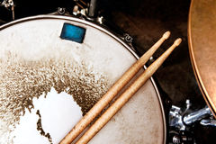 Music and instrument background Royalty Free Stock Photography