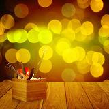 Music instrument with bokeh background Stock Images