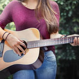 Music Instrument Calm Joy Relaxing Cheerful Concept Royalty Free Stock Photography