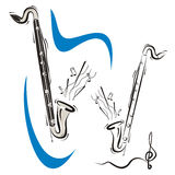 Music instrument series Royalty Free Stock Photo