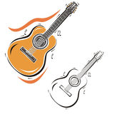Music instrument series Royalty Free Stock Images