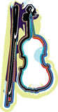 Music instrument vector illustration. Colorful Music Instrument. Vector illustration Stock Photography