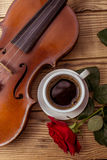 Music instrument violin Royalty Free Stock Images