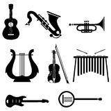 Music instruments Stock Image
