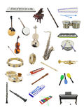 Music instruments Royalty Free Stock Image