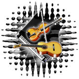 Music Instruments. For those who loves music Stock Photography