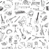 Music Instruments Background Stock Photos