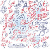 Music and instruments Royalty Free Stock Image