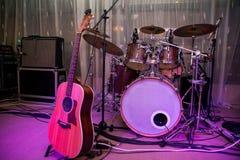 Music instruments Stock Image