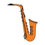 Music instruments design Stock Image