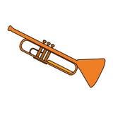 Music instruments design Stock Photos