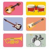 Music instruments Stock Photos