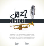 Music jazz background Stock Photos