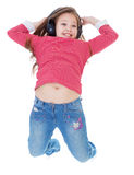 Music, joy, child and youth Stock Photo