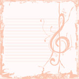 Music key background Stock Photos