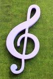Music key symbol Stock Photography
