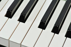 Music keyboard Royalty Free Stock Photo