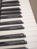 Music keyboard Stock Images