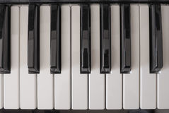 Music keyboard Royalty Free Stock Images