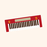 Music keyboard theme elements vector,eps Stock Photography