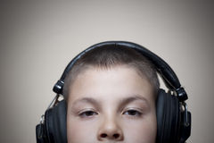 Music kid 04 Royalty Free Stock Photo