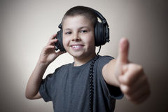 Music kid 07 Royalty Free Stock Photos